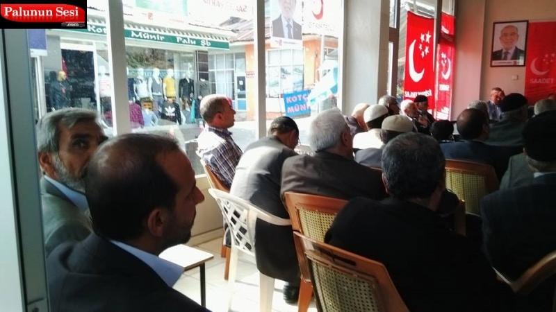 Konuşmaların ardından yapılan seçimde İlçe başkanı Abdurrahim MEYDANOĞLU tekrar başkan seçildi.
