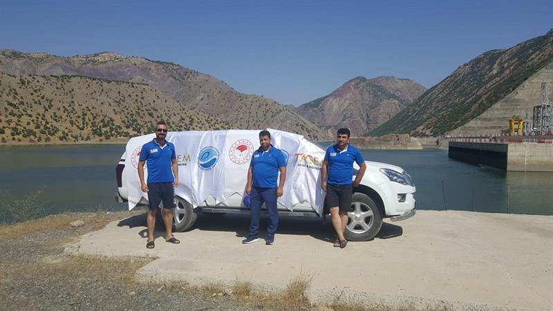 Beyhan Barajına 300 Bin Yavru Sazan Bırakıldı