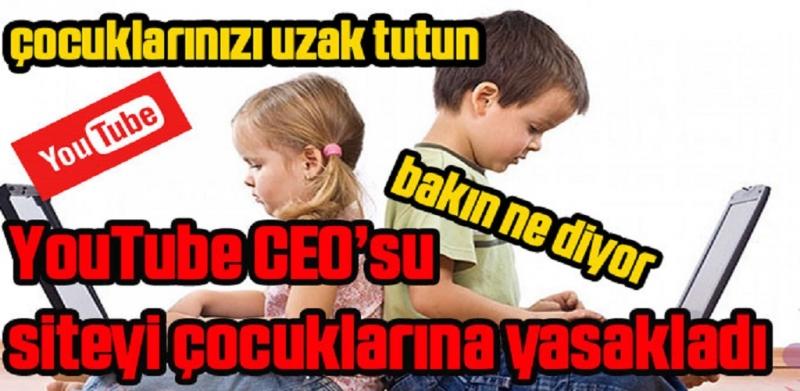 Çocuklarınızı YouTube den Uzak Tutun