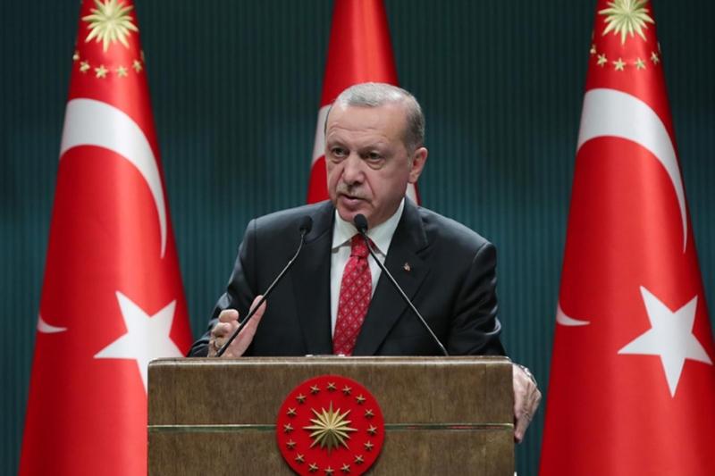 Cumhurbaşkanı Erdoğan: Lanetlenmiş sapkınlıkları normalleştirmenin peşindeler