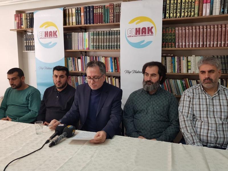 Elazığ Hak Adalet ve Kardeşlik Platformu (ELHAK) Ülke Gündemini Değerlendirdi