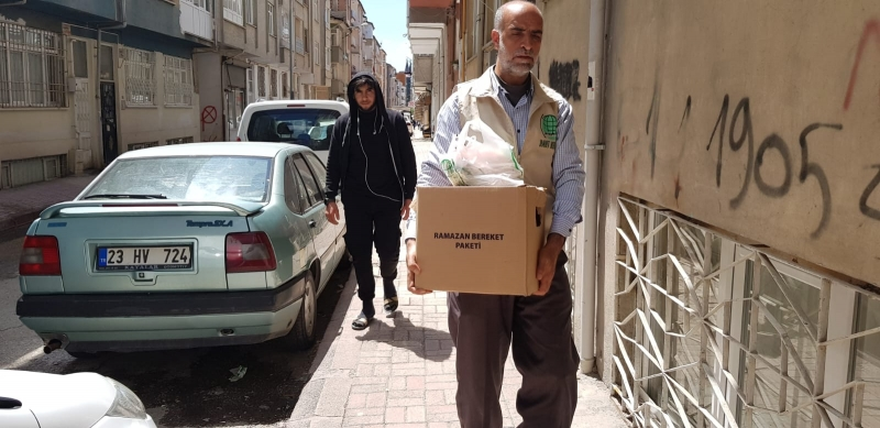 Elazığ Umut Kervanı 110 Aileye Yardım Ulaştırdı