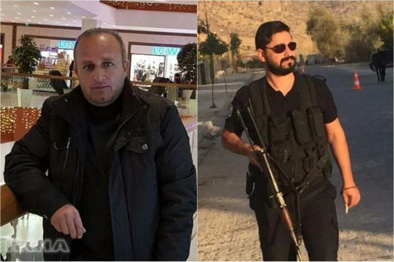 Elazığ`a Engelli getiren polisler kaza yaptı
