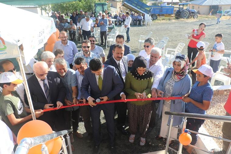 Elazığ`da İyi Tarım Uygulamaları Örnek Köy Projesinin Açılışı Yapıldı