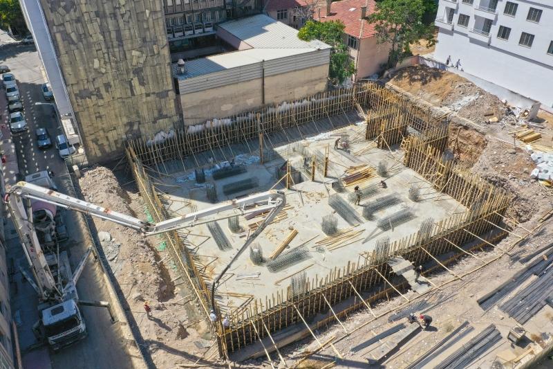 Engelsiz Yaşam Merkezi inşaatı devam ediyor