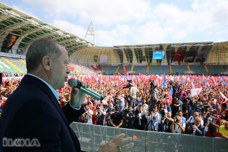Erdoğan'dan İnce'nin Pensilvanya iddiasına yanıt