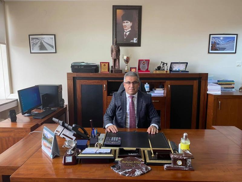Hemşehrimiz Mehmet Ataş Karayolları Genel Müdürlüğünde Yeni Göreve Atandı