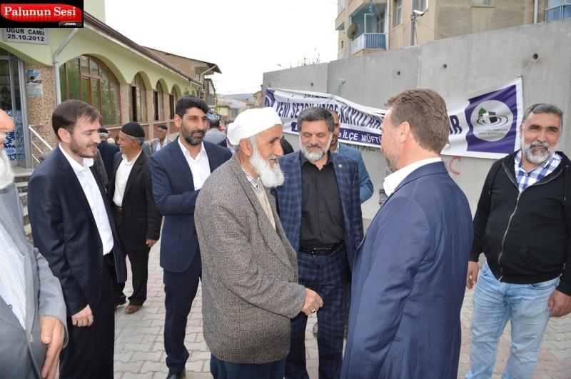 Hüda Par Elazığ İl Başkanı Palu Esnaf Ziyareti Gerçekleştirdi
