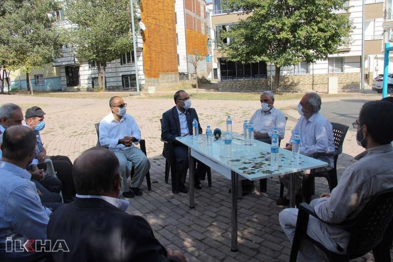 HÜDA PAR Genel Başkanı Munzur Çayı'nda cesetlerine ulaşılan kardeşlerin taziyesine katıldı