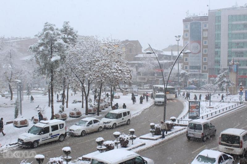 Kar yağışı etkili olmaya devam edecek