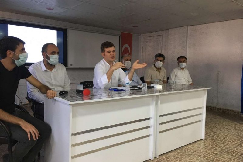 Kovancılar 'da aşı toplantısı gerçekleştirildi
