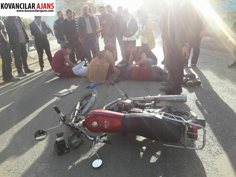 Kovancılar'da Kaza