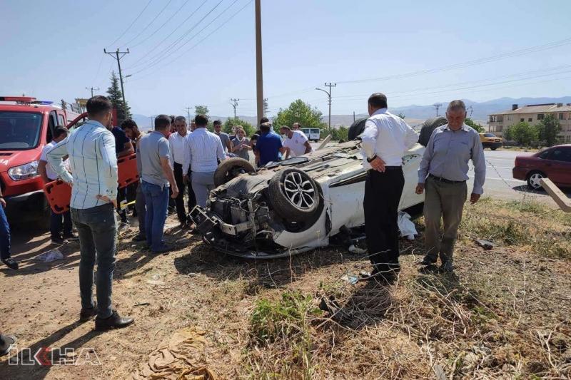 Kovancılar'da kaza: Bir ölü 3 yaralı