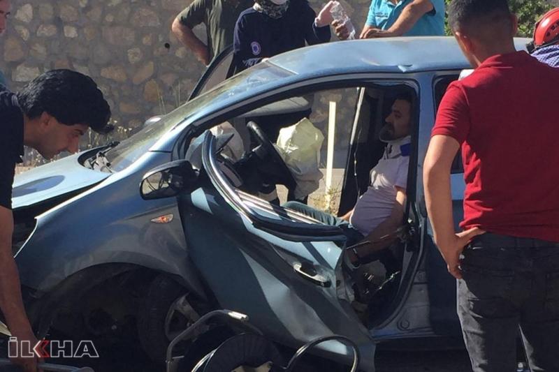 Kovancılar`da Kaza:4 Yaralı