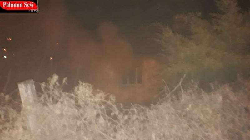 Palu`da Yangın