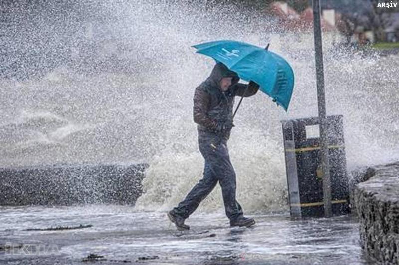 Meteoroloji Elazığ İçin Ani Sel, Su Baskını ve Yıldırım uyarısı