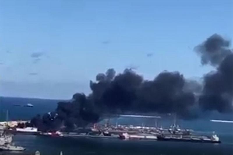 Mühimmat taşıyan Türkiye gemisi Hafter güçleri tarafından saldırıya uğradı