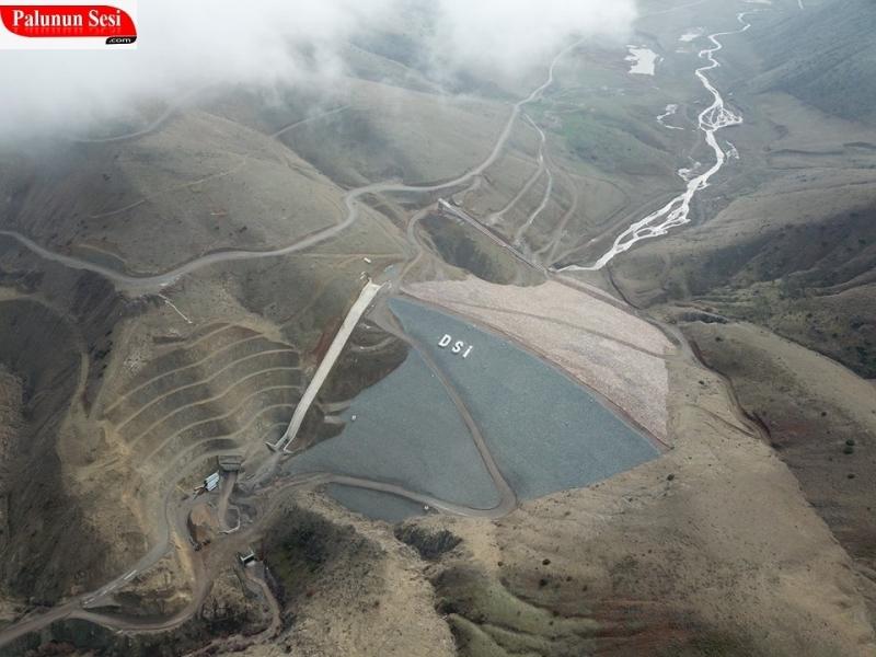 Palu Hamzabey Barajinda Su Tutulmaya Başlandı