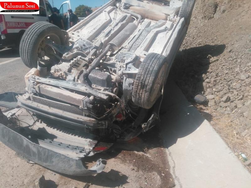 Palu`da Kaza: 1 Yaralı
