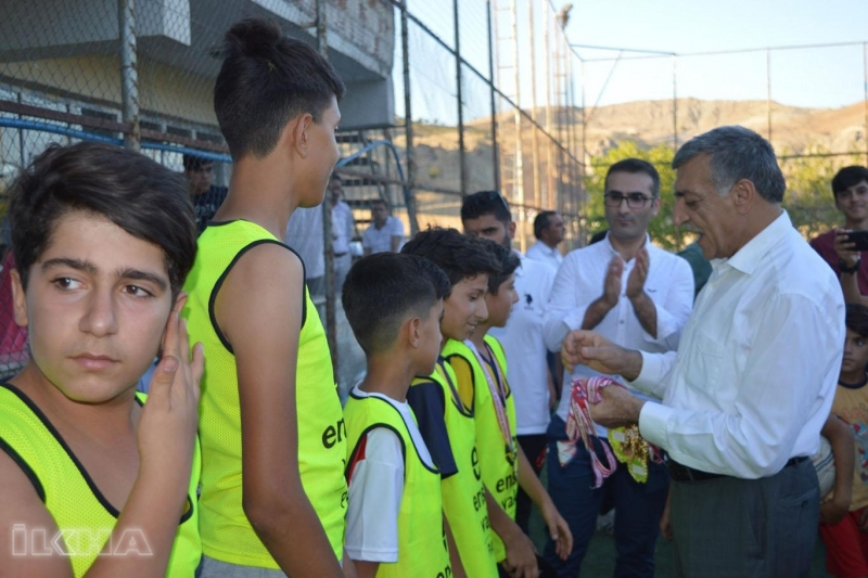 Palu`da Kur'an kursları arası futbol turnuvası