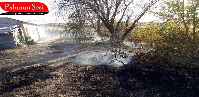 Palu'daki yangında Kundaklama Şüphesi
