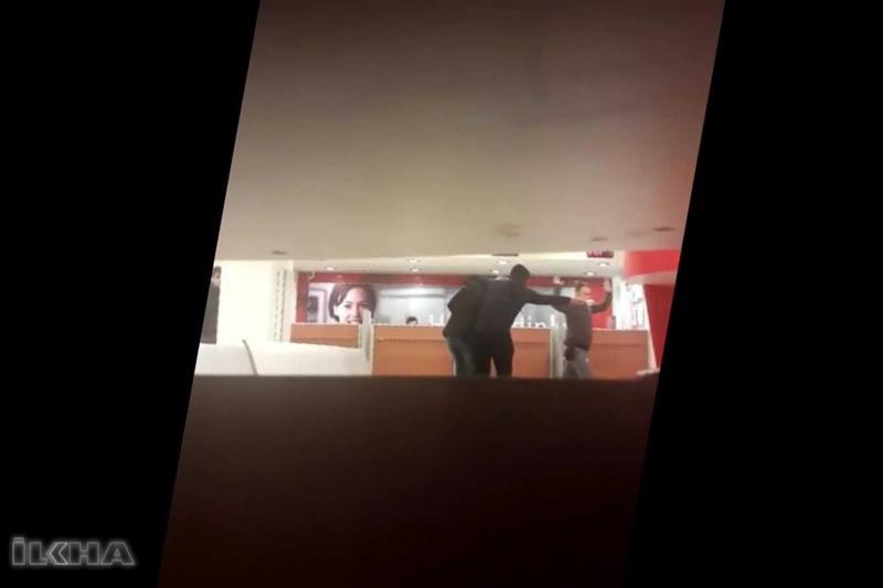 Şanlıurfa'da banka soygunu kameralara yansıdı