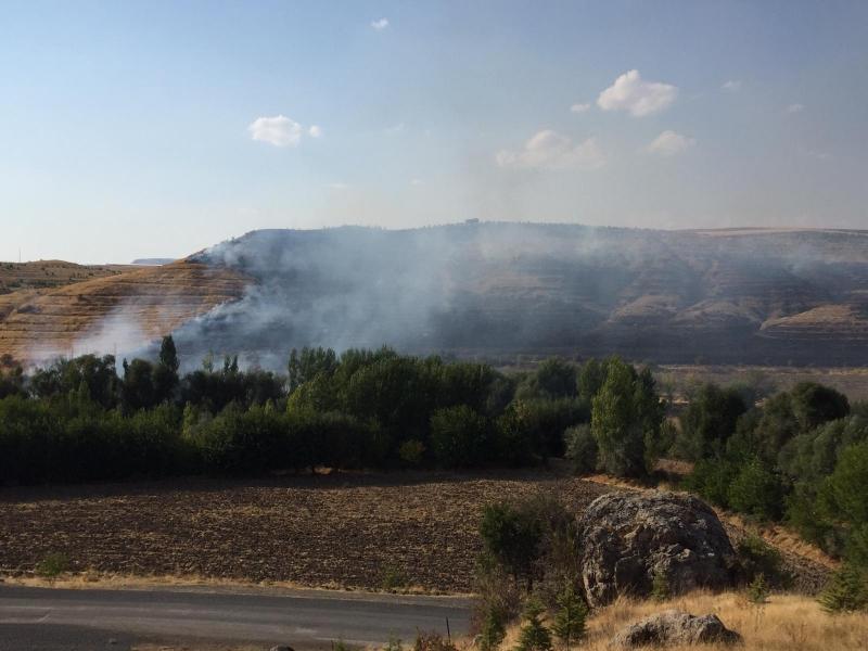 Seydilli Köyünde Yangın Meydana Geldi- VİDEO
