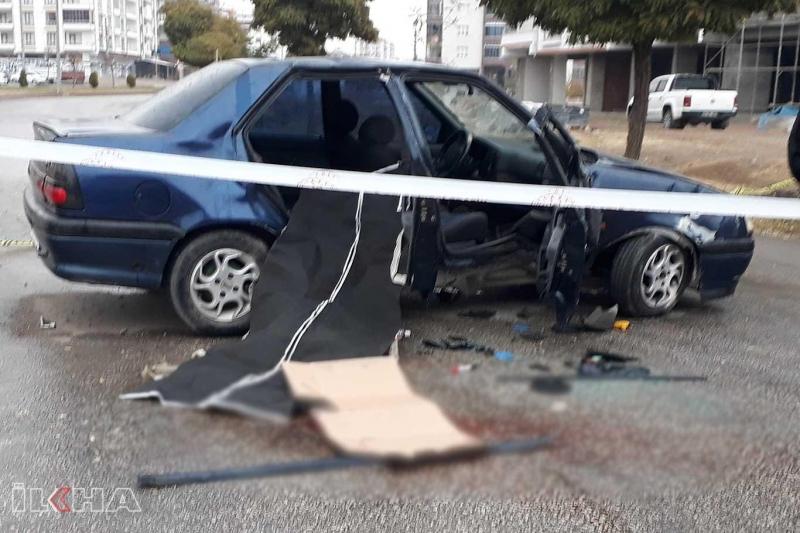 Takla atan araçta 1 kişi öldü 2 kişi yaralandı