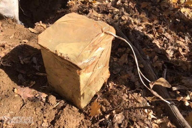 Tunceli'de basma düzenekli el yapımı patlayıcı ele geçirildi