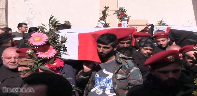 Türkiye uçakları Suriye rejimi yanlısı güçleri vurdu
