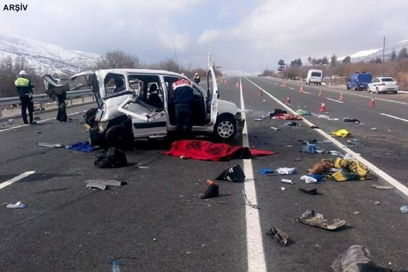 Türkiye'de 2019'da 175 bin ölümlü ve yaralanmalı kaza meydana geldi