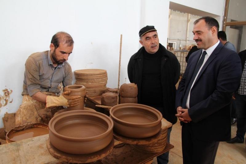 Vali Kaldırım'dan Fabrika Ziyaretleri